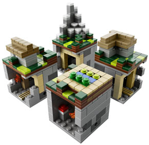 lego-minecraft-collector-micro-monde-village