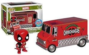 Figurine Funko  Funko-chimichangas-rouge-camion-deadpool