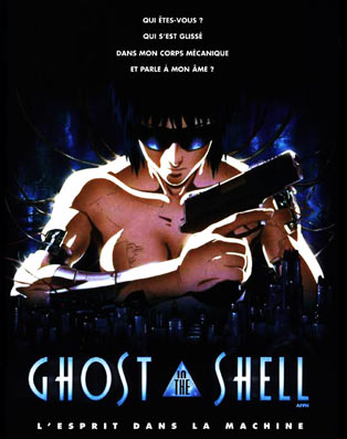 ghost in the shell-Bluray-DVD-originale