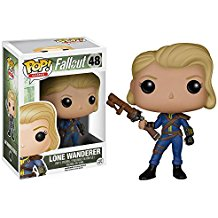 Funko Pop Fallout Lone Wanderer femme collection 2017