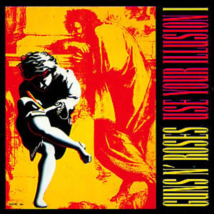 Guns-N-Roses-Use-Your-Illusion-I-edition-limitee-double-Vinyle-LP