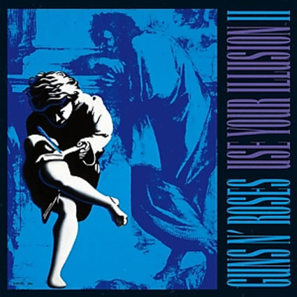 Guns-N-Roses-Use-Your-Illusion-II-Back-to-Black-edition-collector-limitee-Vinyle-2LP