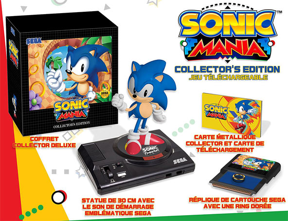 Sonic-Mania-edition-collector-PS4-Xbox-One-Statue-Megadrive-Sega