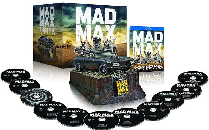 Coffret-mad-max-voiture-director-cut-NB-black-chrome-high-octane-interceptor-4k-3D-integrale