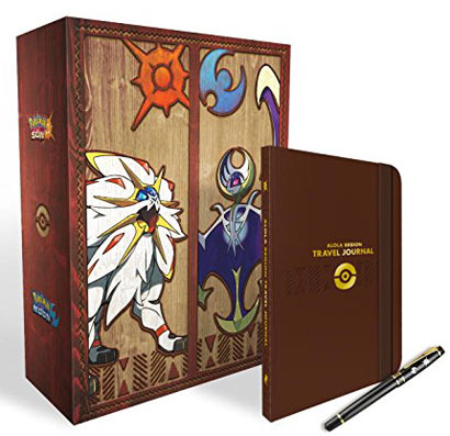 Coffret-collector-guide-jeu-pokemon-lune-soleil-edition-limitee-vo-anglais-francais