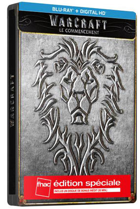 Warcraft-steelbook-Fnac-bluray-le-commencement