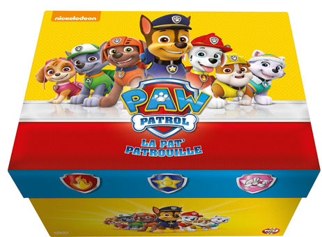 paw patrol dessin et s rie anim pat patrouille coffret integrale dvd. Black Bedroom Furniture Sets. Home Design Ideas
