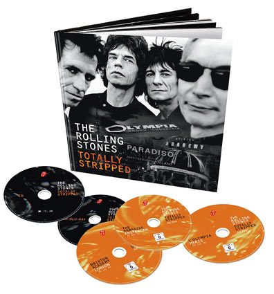 The Rolling Stones Totally Stripped 233 Dition Collector