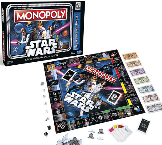 Monopoly-edition-collector-limitee-star-wars-40-anniversaire-40th