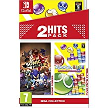 2 Hits Pack Sonic Forces Puyo Puyo Tetris