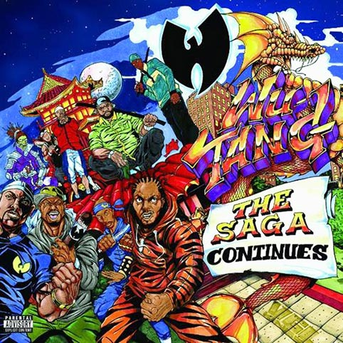 Wu Tang Clan The Saga Continues 233 Dition Limit 233 E Vinyle Cd