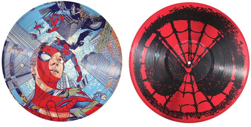 Spiderman-Homecoming-Vinyle-lp-picture-disc-edition-limitee