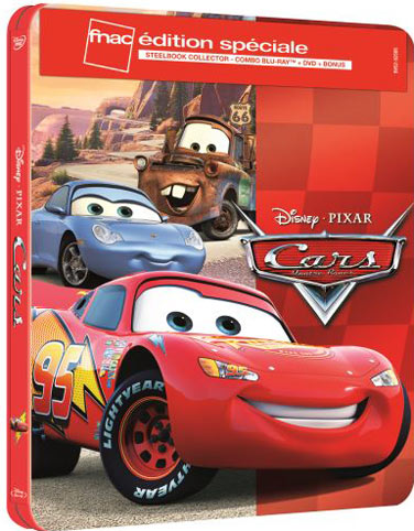 cars 3 steelbook dition collector blu ray dvd 4k 3d. Black Bedroom Furniture Sets. Home Design Ideas