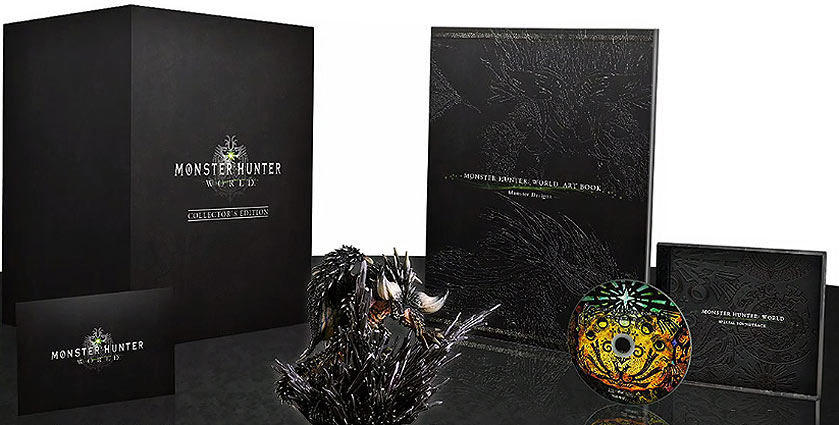 Monster-Hunter-World-edition-collector-coffret figurine