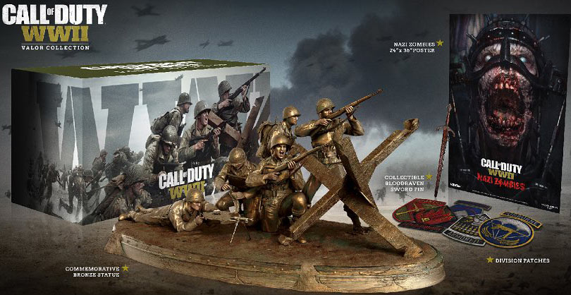 coffret-collector-valor-edition-Call-of-Duty-WWII