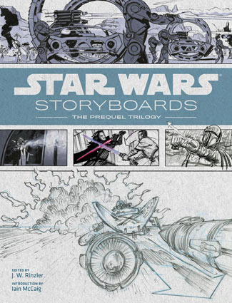 Storyboard-Star-Wars-prelogie-Artbook-livre-episode-1-3