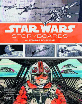 Storyboards-Star-Wars-trilogie-Artbook-livre-collector