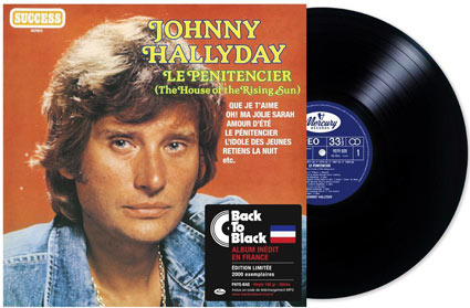 Le-Penitencier-house-of-the-rising-sun-Johnny-Hallyday-Vinyle-edition-limitee