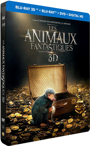 Steelbook-Les-animaux-fantastique-edition-limitee-Amazon-sortie-2017-Bluray-DVD