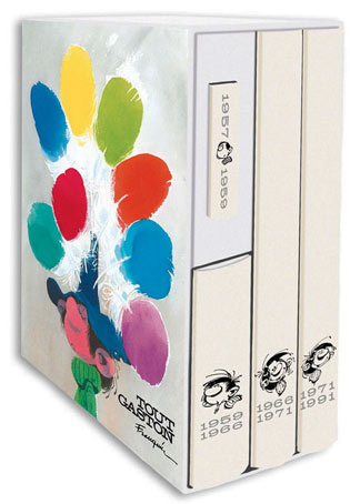 coffret-integrale-gaston-lagaffe-BD-edition-limitee-plaque-emaillee