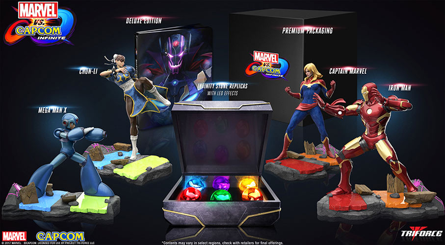 Coffret-collector-figurines-Marvel-Vs-Capcom-PS4