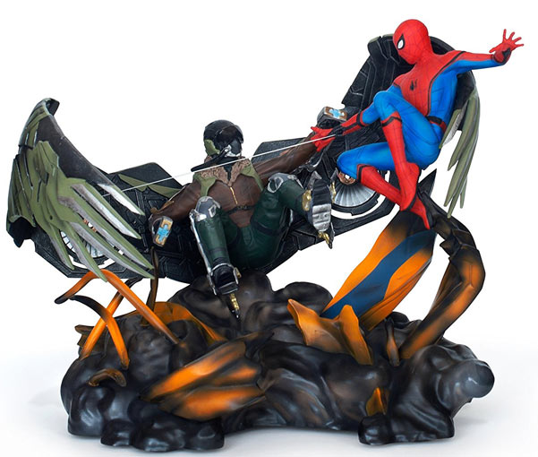 Figurine-coffret-collector-Spider-Mn-Homecoming-edition-limitee-Bluray