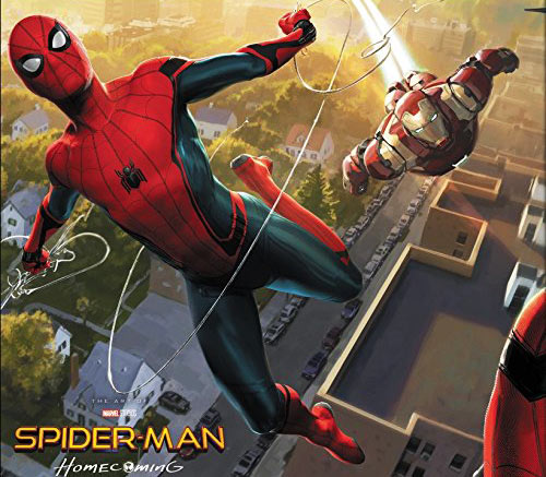 Spiderman-Homecoming-Spider-Man-Artbook-livre-2017