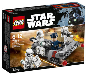 LEGO-star-wars-75166-Pack-Combat-Speeder-Transport-figurines