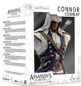 Buste-connor-Kenway-figurine-collector-assassin-creed