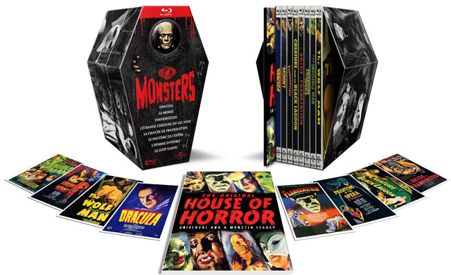 Coffret edition collector Universal Monster Bluray