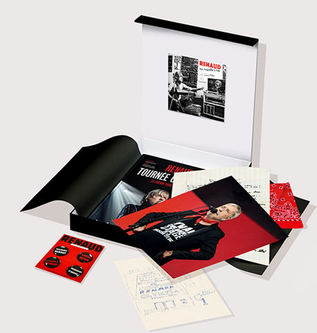 Coffret-livre-renaud-tournee-general-edition-collector-phenix-tour-CD