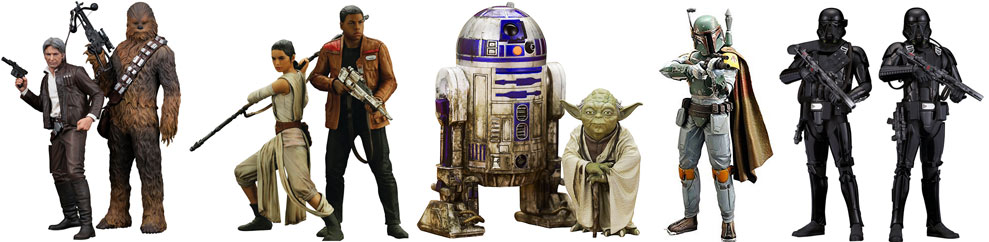 Figurine-Star-wars-collector-collection-limitee