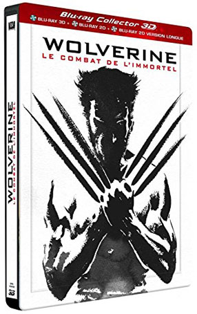 Wolverine-Le-combat-de-l-immortel-Steelbook-edition-Collector-Bluray-DVD-3D