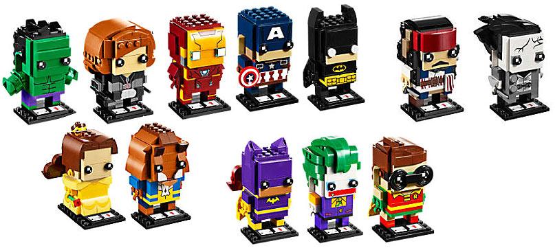 lego figurine brickheadz disney marvel batman pirates des. Black Bedroom Furniture Sets. Home Design Ideas