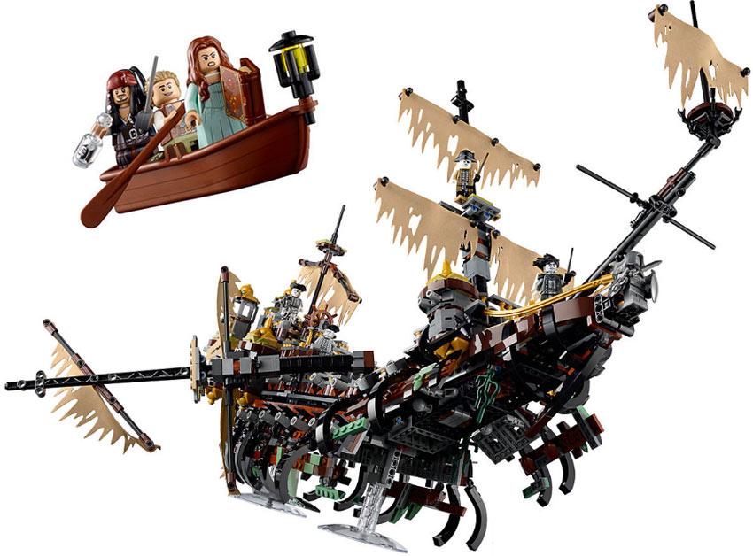 lego silent mary bateau pirates des cara bes 71042 mini. Black Bedroom Furniture Sets. Home Design Ideas