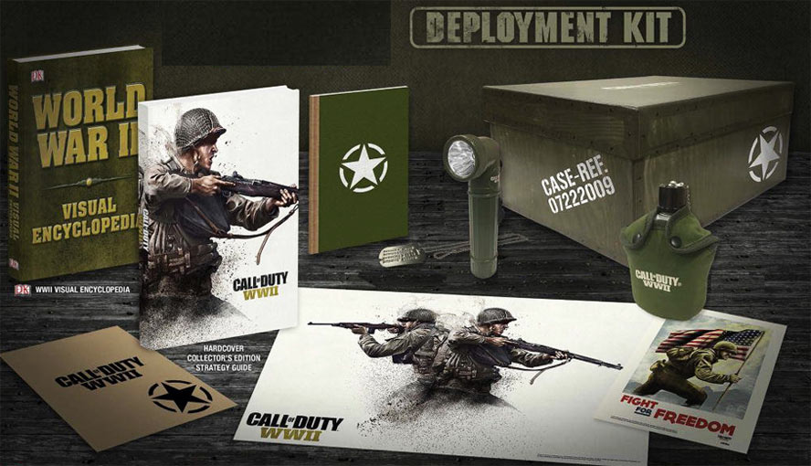 CoD WWII Deployment Kit Edition Uber Guide-coffret-ultra-collector-Deployment-Call-of-Duty-WWII