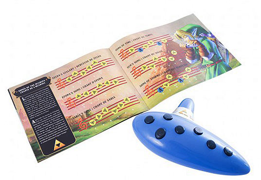 Guide-flute-ocarina-Zelda-30-ans-edition-collector