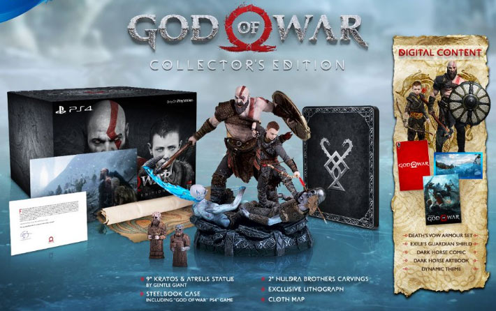 God-of-war-edition-collector-PS4-figurine-steelbook
