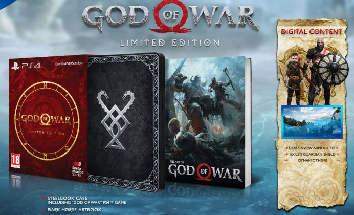 god-of-war-edition-collector-PS4-2018-Steelbook-artbook