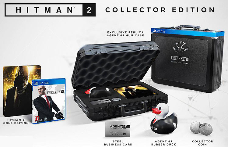Hitman-2-coffret-collector-2018-PS4-canard-duck