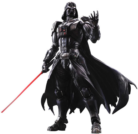 Figurine-collector-Dark-Vador-Darth-Vader-square-enix-play-arts-kai