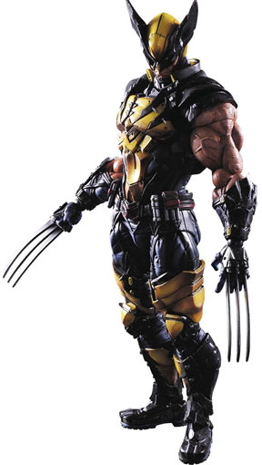 Figurine-play-arts-Kai-Wolverine-collector