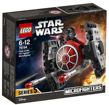 LEGO-Star-Wars-Microfighter-75194-Chasseur-TIE-Premier Ordre
