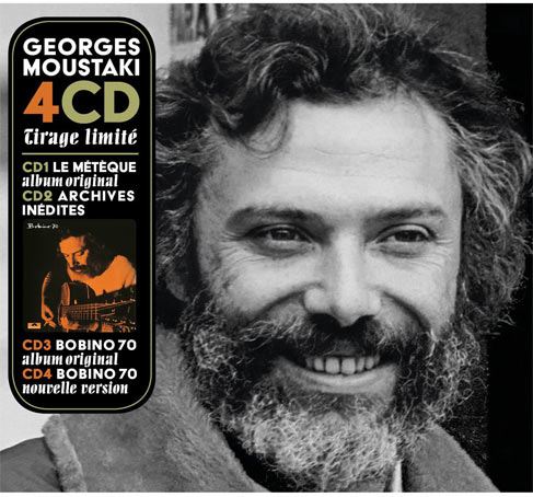 Georges moustaki coffret collector bobino et best of 2018 - Georges moustaki il y avait un jardin ...
