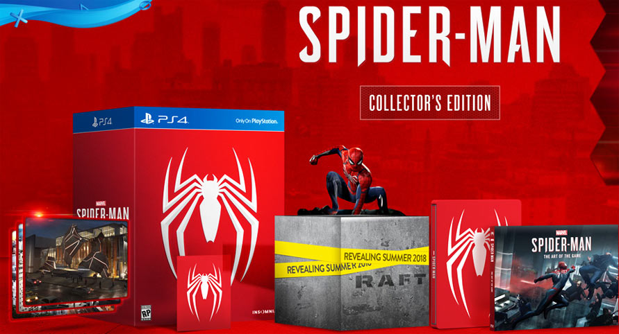 edition-collector-limitee-Spider-Man-PS4-figurine-Marvels