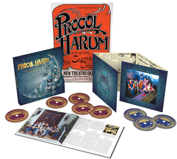 procol-harum-coffret-collector-CD-DVD-anthology-edition-limitee-deluxe
