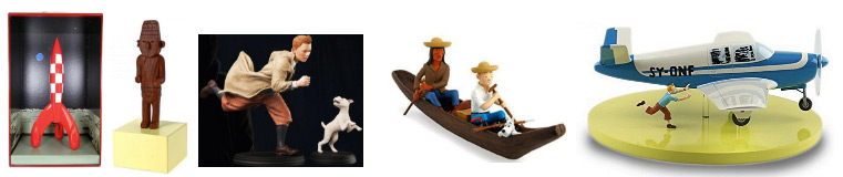 Figurine-statue-tintin-collector