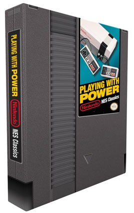 Artbook-Nintendo-NES-Classics-livre-collector-Playing-with-Power