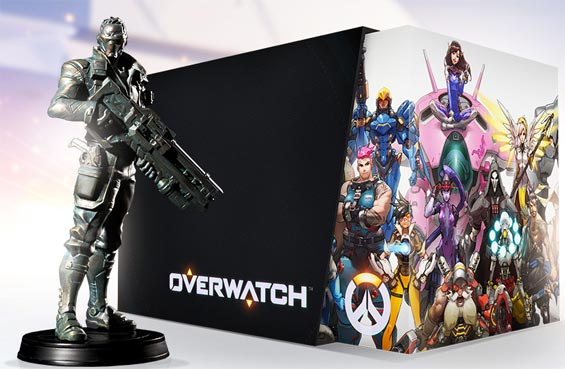 Overwatch-edition-collector-statue-agent-76-figurine