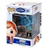 funko reine des neiges frozen Anna Crystal Blue glace